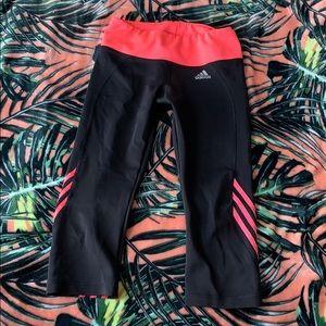 ADIDAS Neon Capri Pants Size Medium
